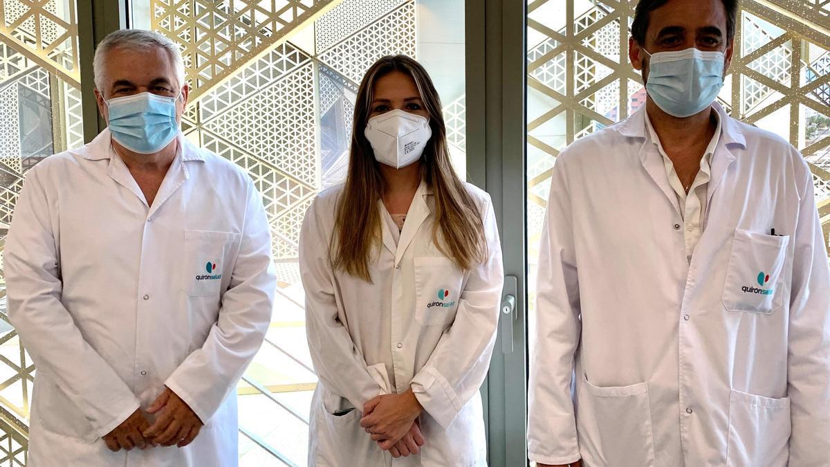 Miembros de la Unidad de Reumatología Pediátrica del Hospital Quirónsalud Córdoba.