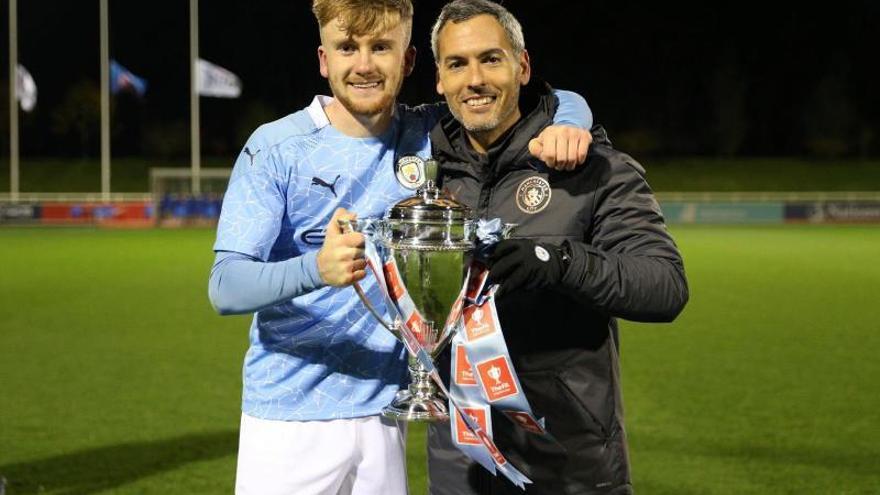 Vicens, del Ses Salines a campeón con el City