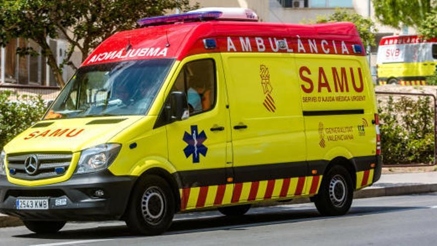 Muere una anciana al cortarse con una motosierra en la Vila Joiosa