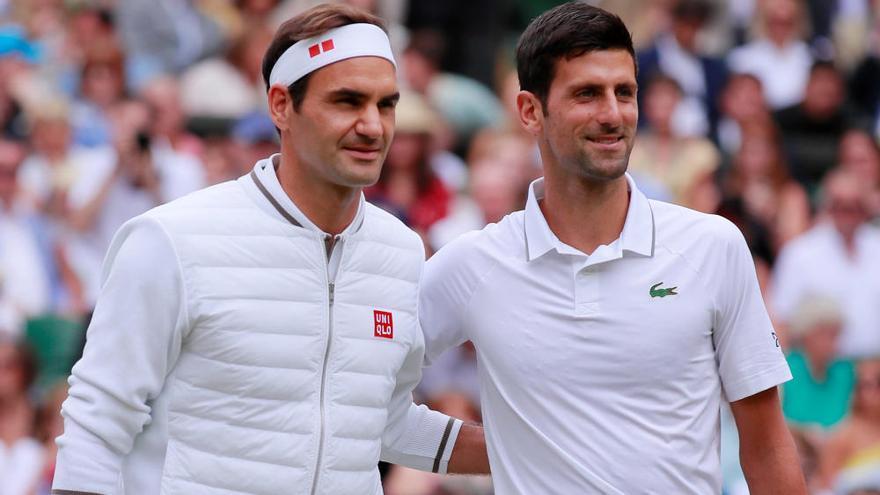 Final de Wimbledon: Djokovic-Federer