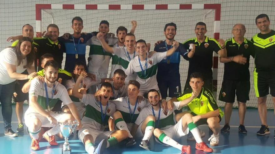 El juvenil del Elche se proclama campeón de la Copa Autonómica
