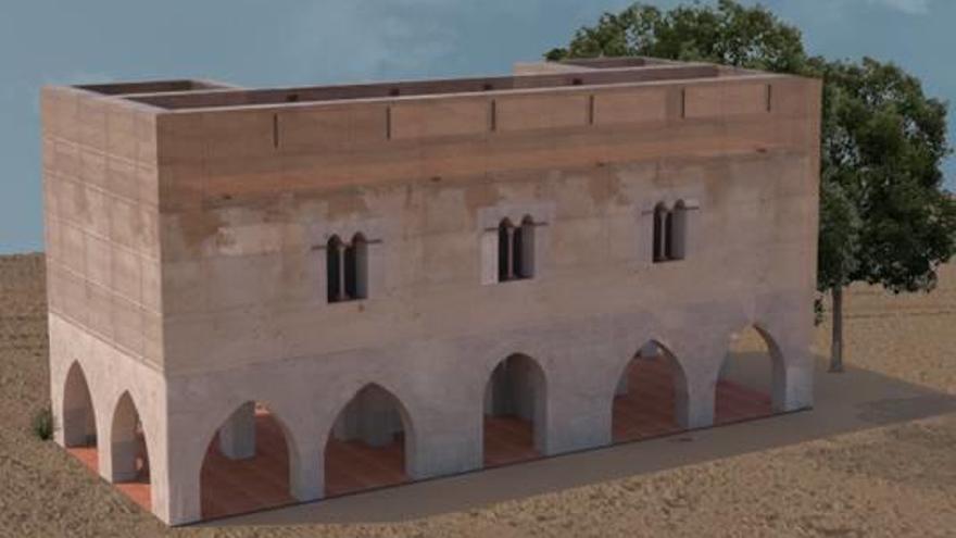 Las nuevas cubiertas frenan la degradación de la joya gótica de la Ribera