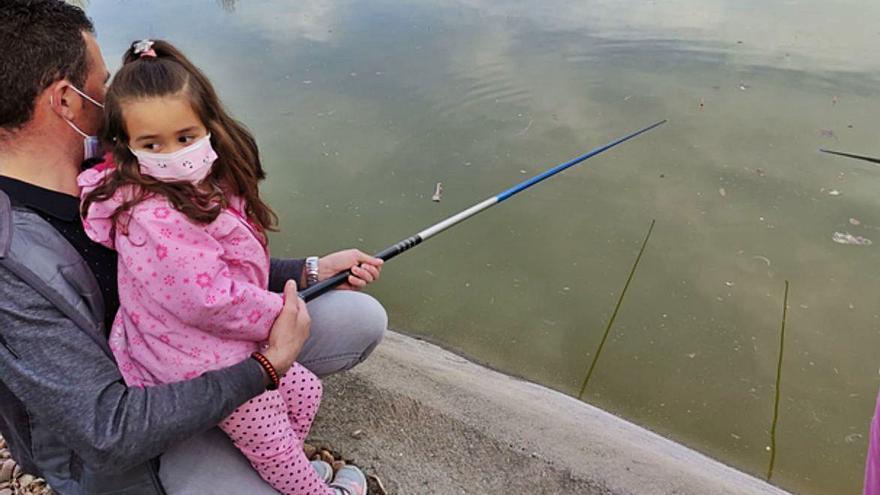 Pesca y respeto a la naturaleza, en Benavente