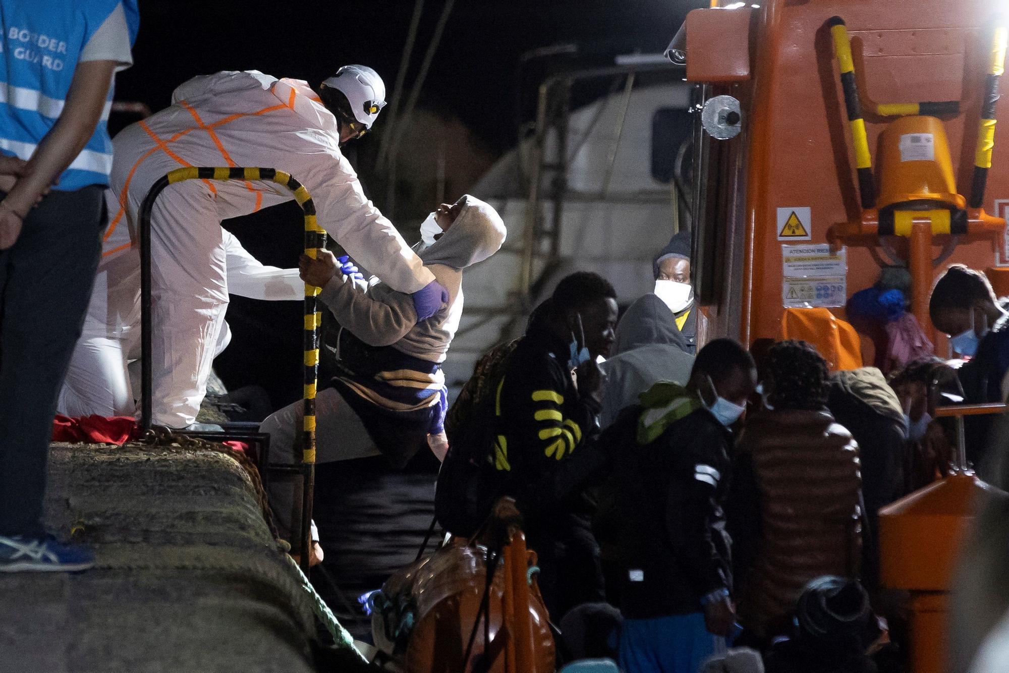 Llegada de migrantes a Gran Canaria (27/06/21)