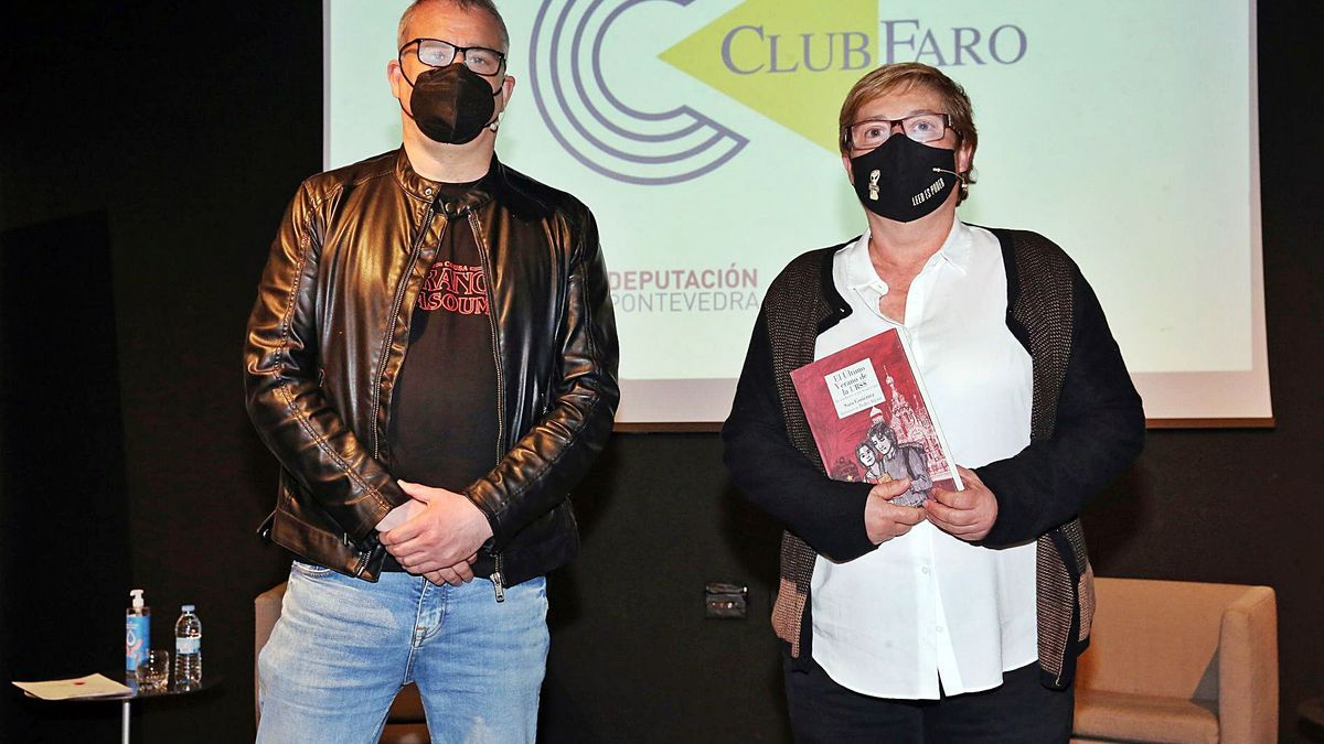 Sara Gutiérrez fue presentada por Rubén Rey. |   // MARTA G. BREA