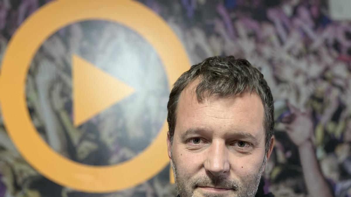 Jordi Lauren, codirector del SonRías Baixas de Bueu.