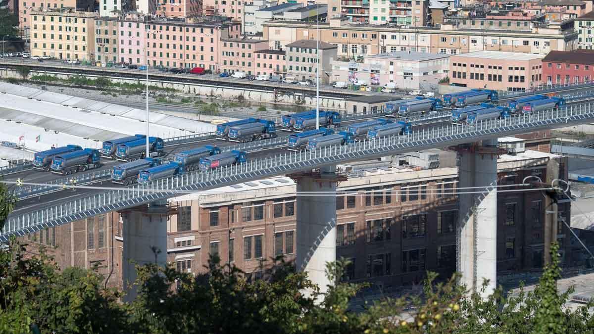El nuevo puente de Génova se inaugurará entre el 1 y el 5 de agosto