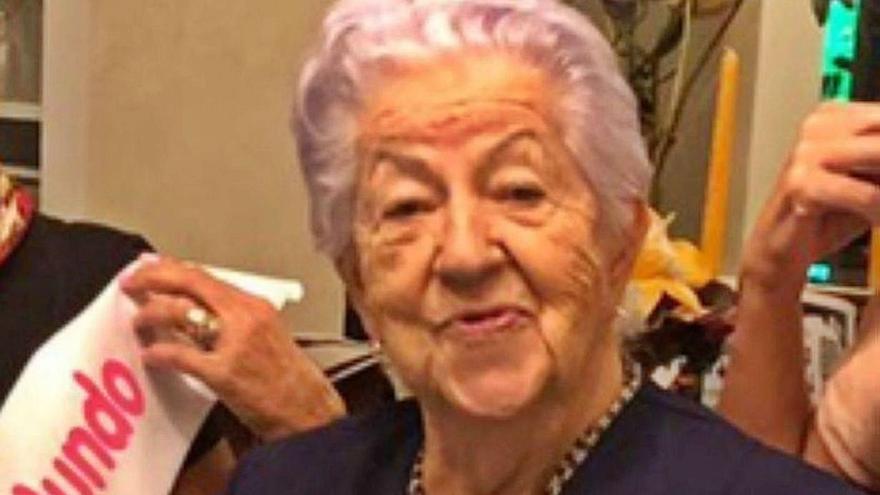 Ramona Perandones Luengo cumple cien años, con deseo de poder celebrarlo
