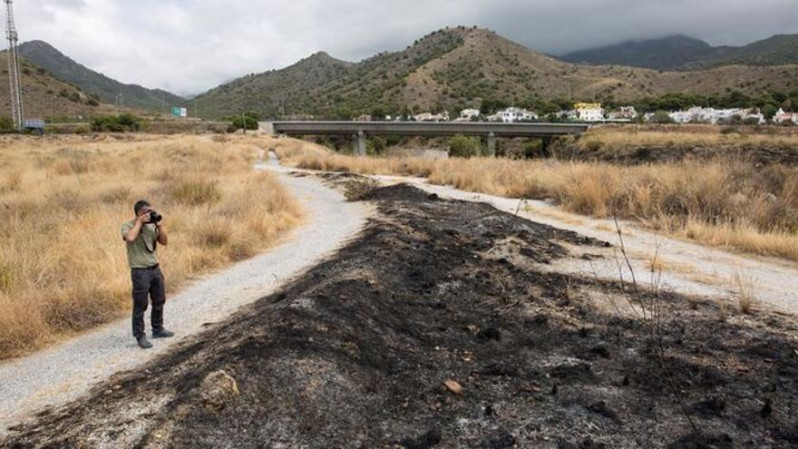 La mujer asesinada y posteriormente quemada en Málaga convivía desde hacía unos meses con su pareja