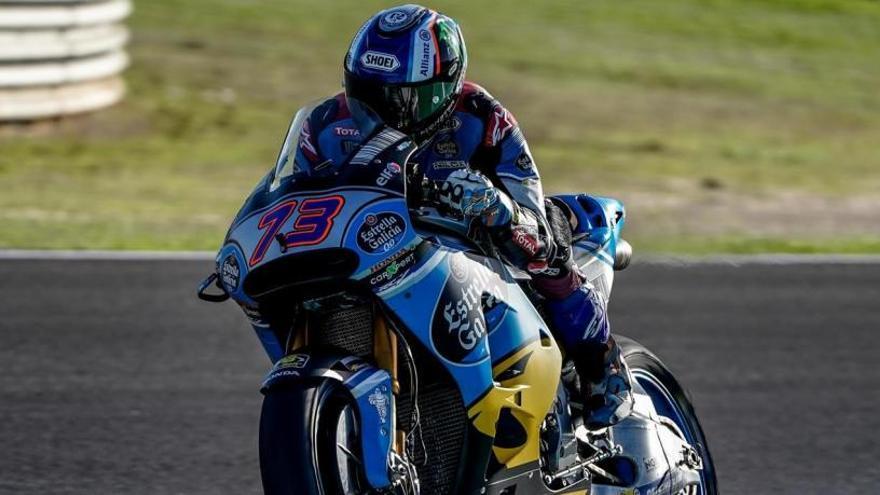 Álex Márquez, el más rápido en Moto2