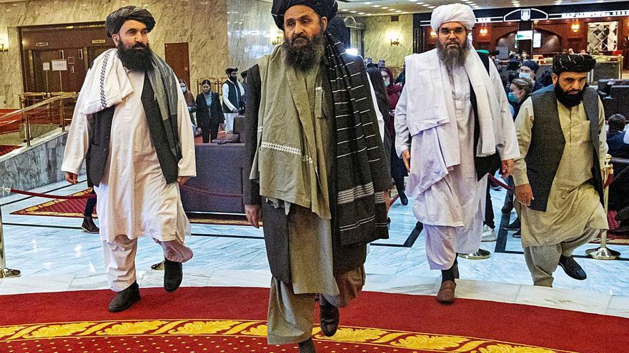 El mul·là Baradar, home fort dels talibans, negocia un govern a Kabul