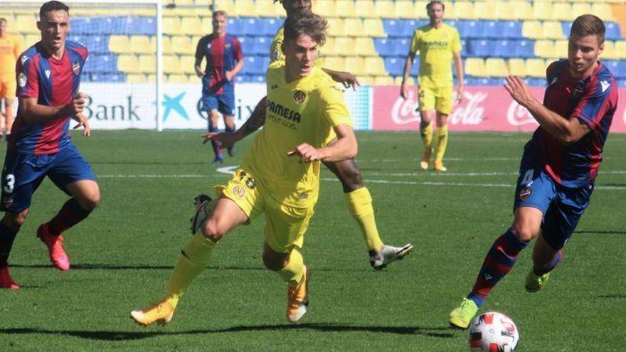El Villarreal B deja escapar vivo al Atlético Levante (1-1)