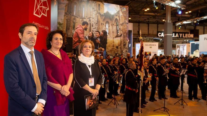 El Congreso Nacional de Hermandades y Cofradías de Zamora se luce en Fitur