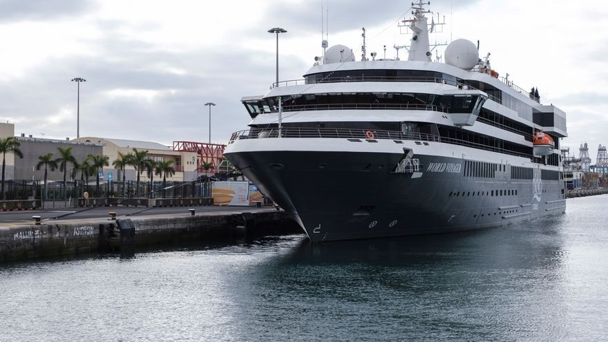 El World Voyager se estrena en Canarias en un corredor seguro con Alemania