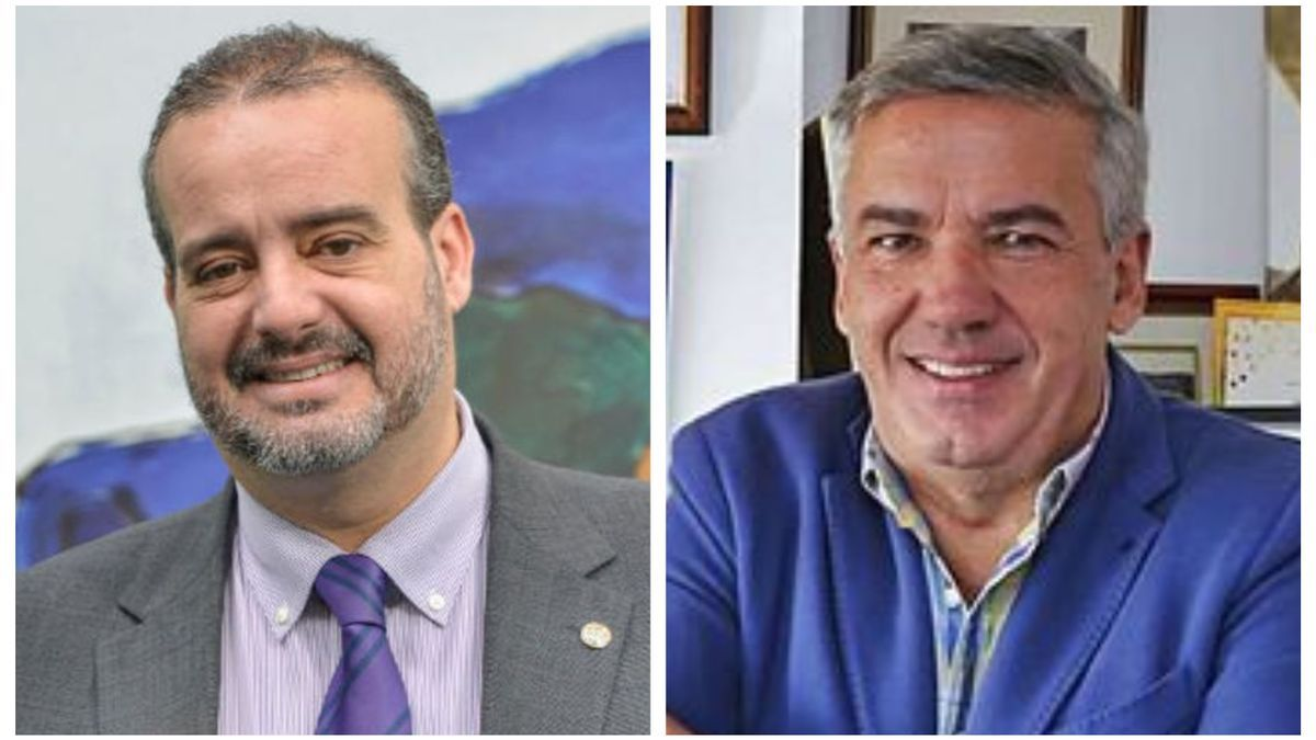 Rafael Robaina (i) and Luis Serra (r)