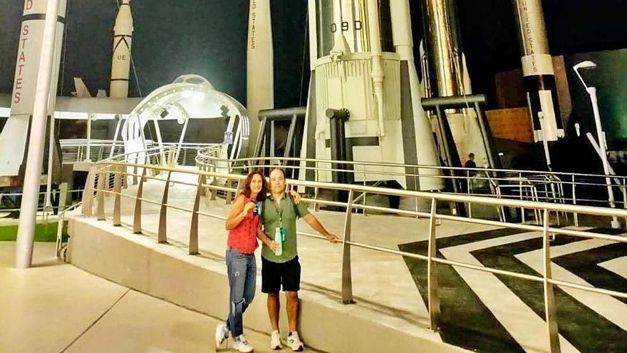 """Asturias asiste en Florida al salto espacial de """"Lucy"""""""