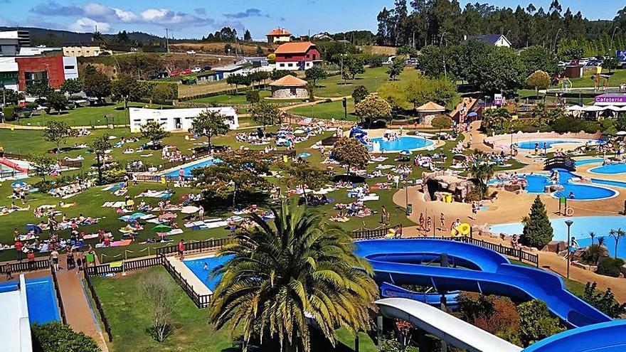 El Aquapark abrirá sus puertas el próximo 19 de junio