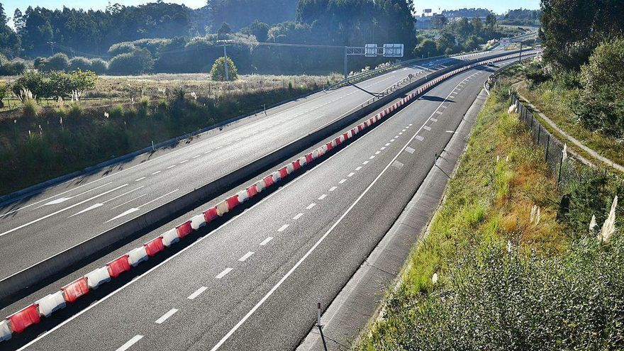La vía ártabra, carretera de la Xunta que ganó más tráfico en la comarca