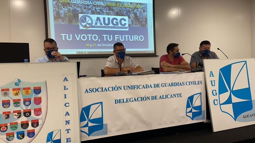 La AUGC pide a los agentes que voten en las elecciones al Consejo de la Guardia Civil