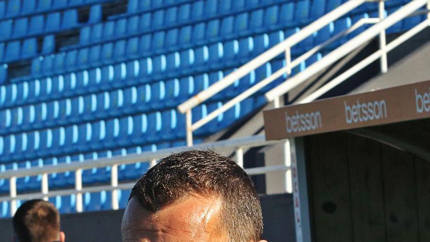 Carcedo: «Lo que nos importa es ser capaces de conseguir nuevamente tres puntos»