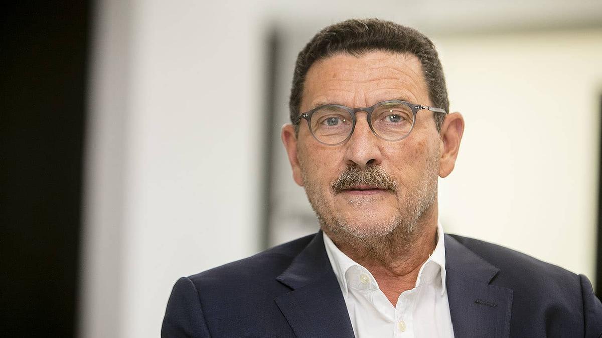 Zaragosí, que hoy ha dimitido como consejero del Valencia CF.