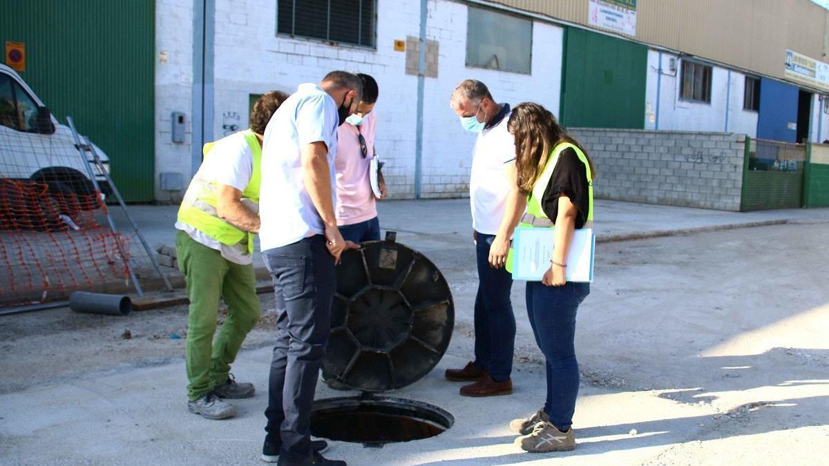 Reparan la estación de bombeo del polígono Gallardo de La Carlota