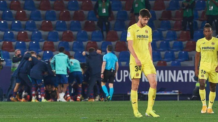 Al Villarreal se le atraganta el último sorbo de una amarga Copa (1-0)