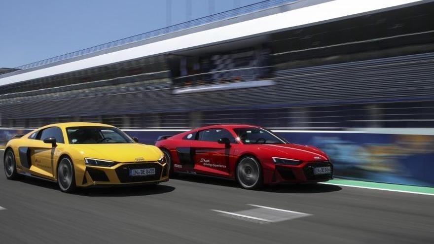 Arrenca l'Audi Driving Experience