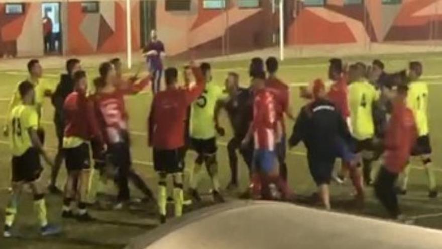 Nueva tangana en el fútbol canario