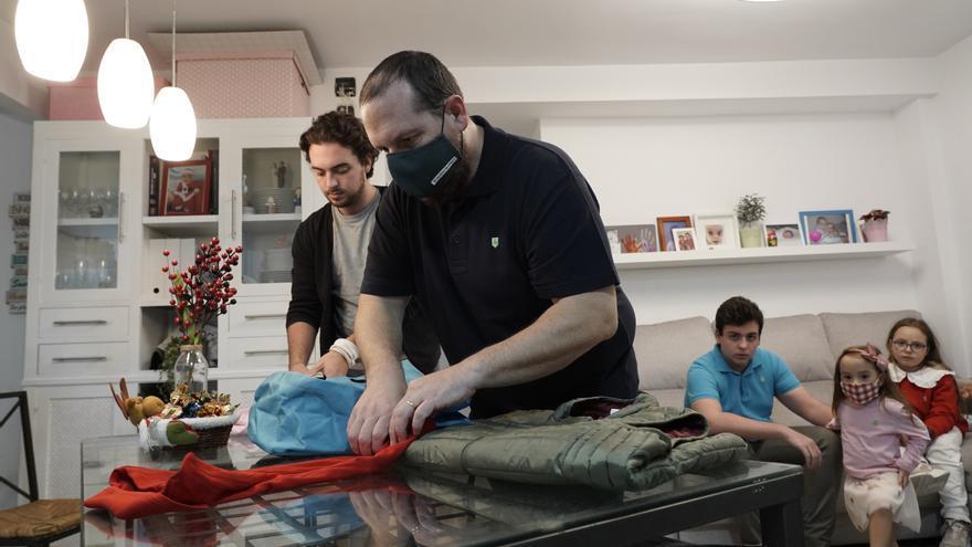 Una familia que perdió a su hijo con Síndrome de Down crea una tienda solidaria