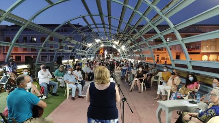 Volvió el recital de poesía 'Nogalte Cultural' a Puerto Lumbreras