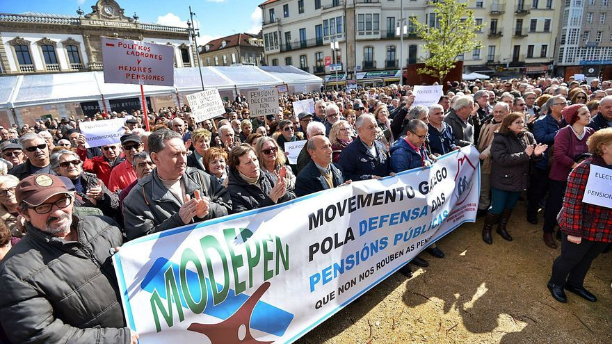 Los pensionistas mueven 16,9 millones al mes