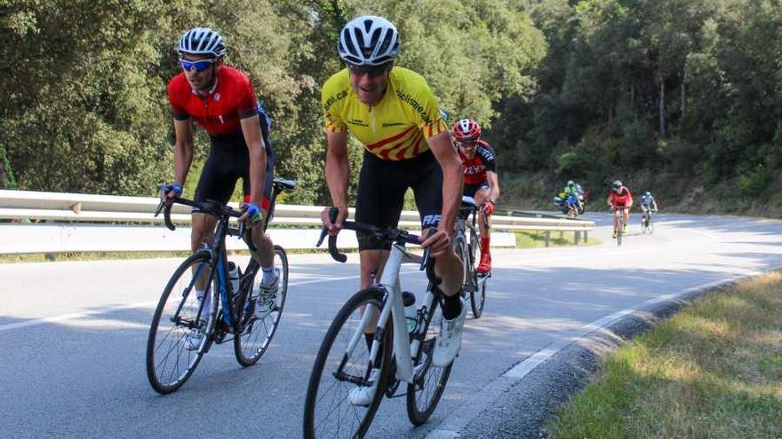 El GP Castelló d'Empúries s'estrena a la Xallenge de Veterans de ciclisme