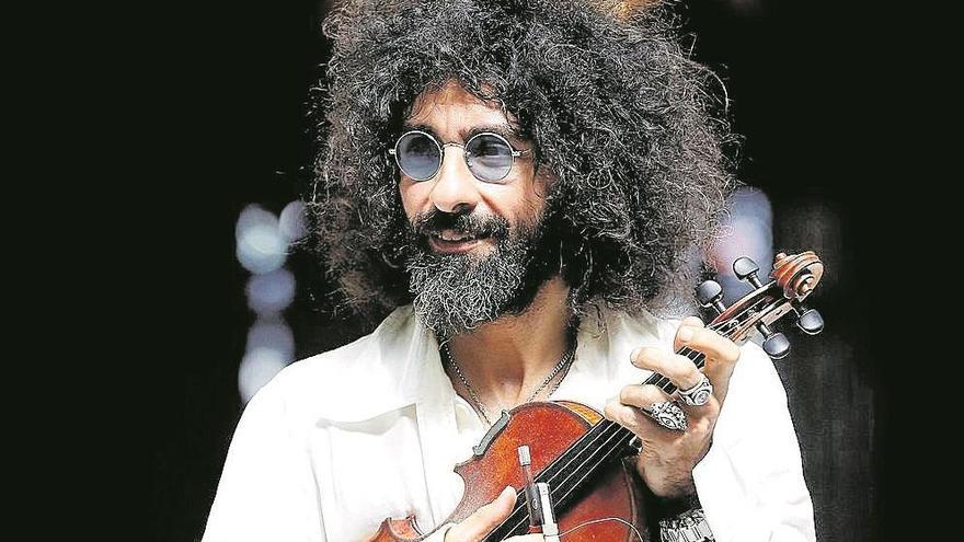 """Ara Malikian: """"No vendo motos. Lo que se ve en mis conciertos es lo que soy yo"""""""