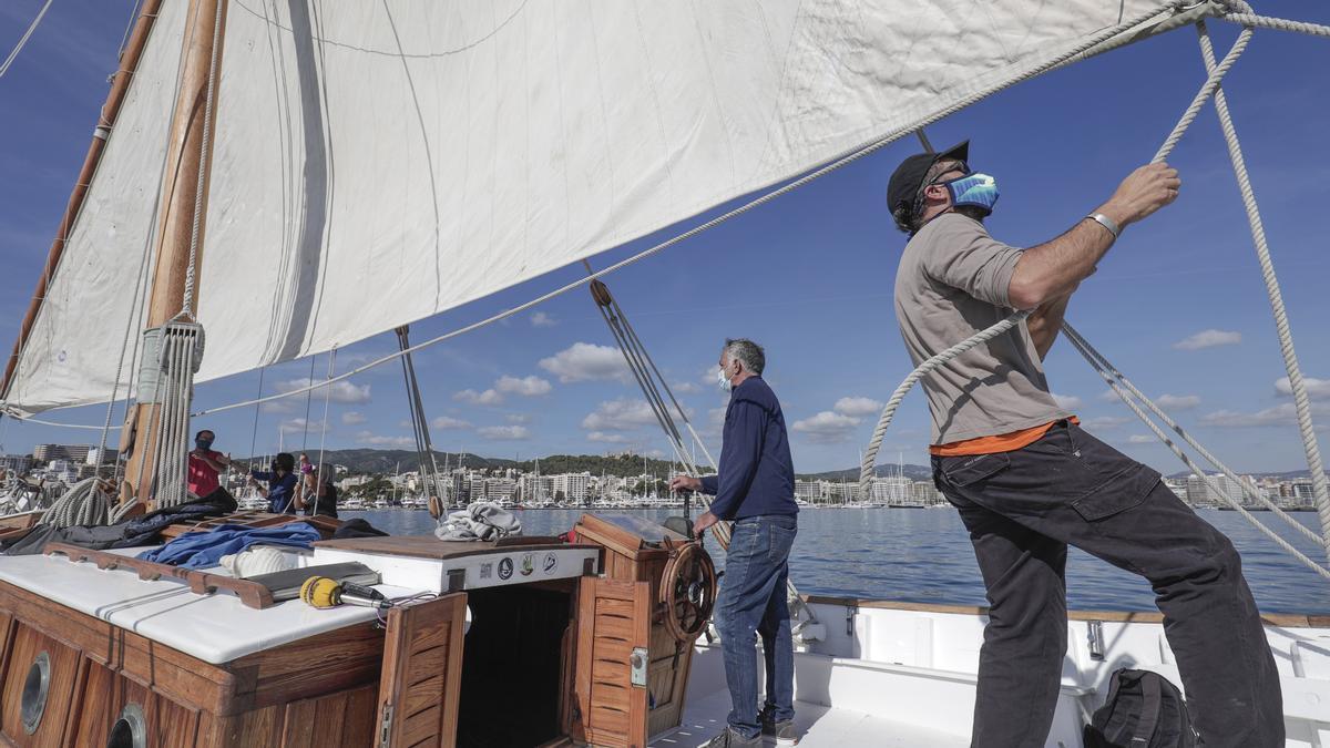 La Balear ofrece a todos los ciudadanos excursiones de tres horas por la bahía de Palma