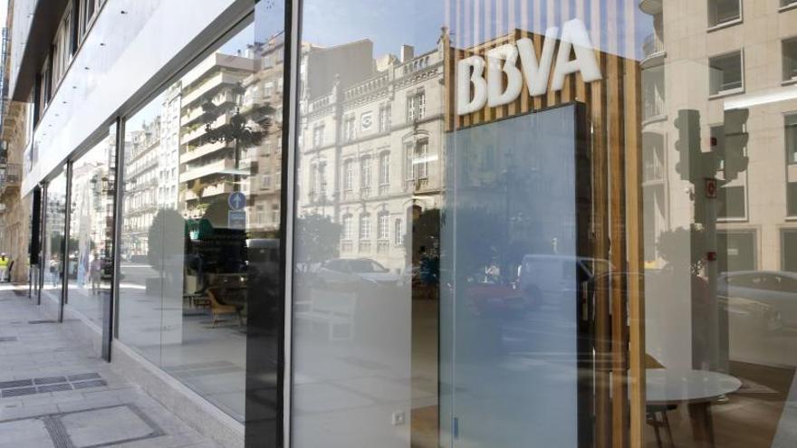 El ERE de BBVA prevé un recorte de más de 100 empleos en Galicia y casi 3.800 en todo el país