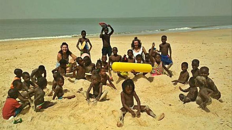 El agua fluye hasta Guinea Bissau