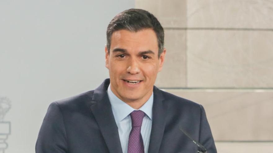 Sánchez ha resaltado las virtudes de sus presupuestos.
