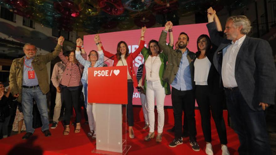 Sandra Gómez refuerza al PSPV con dos concejales más pero no supera a Ribó