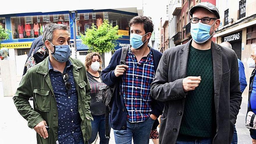 Gómez-Reino presenta la Renta Garantida contra la desigualdad