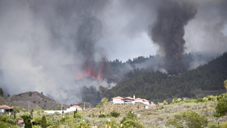 Los vídeos de la erupción del volcán de La Palma