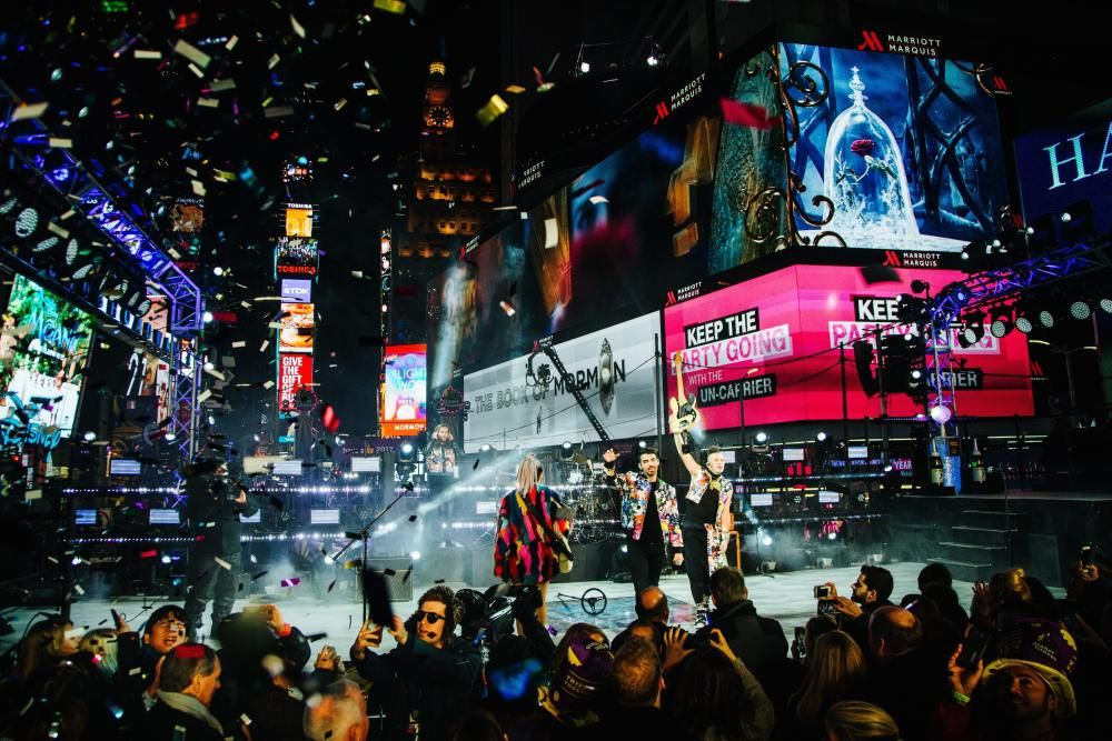 New Year's Eve celebration in New York, New York