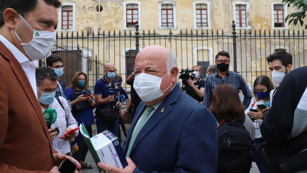 """Salud comienza este jueves los """"testeos"""" en Lucena y asegura que no hay transmisión comunitaria"""