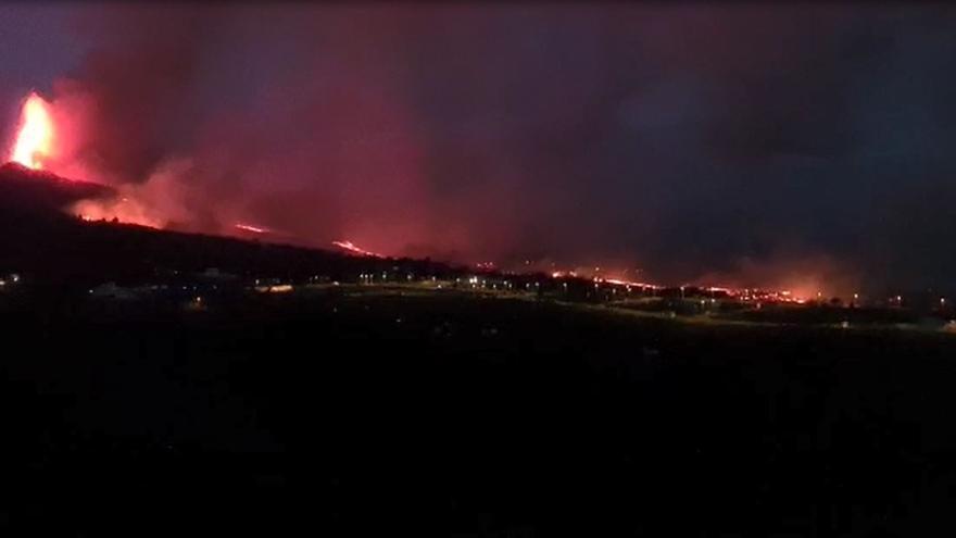 Los reyes visitarán el jueves la zona afectada por la erupción en La Palma