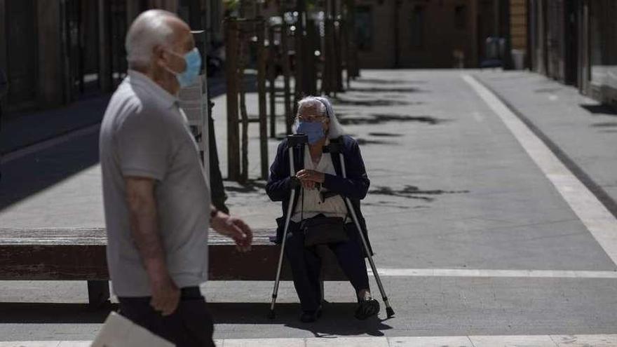 El coronavirus y el cierre de oficinas reducen en abril la nómina de las pensiones en Zamora