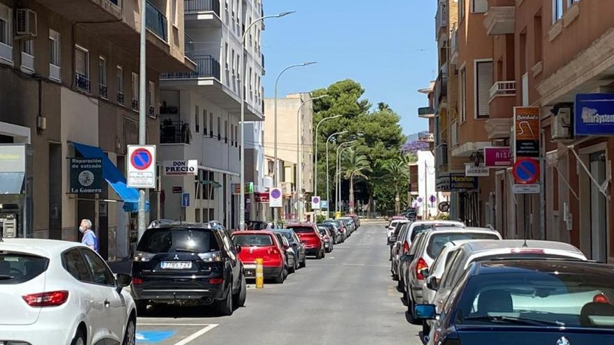 El Ayuntamiento de Aspe amplía la zona azul gratuita a dos tramos más del centro