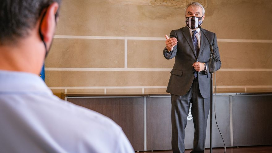 Fragoso apura hasta el último día y dimitirá como alcalde de Badajoz el 15 de junio