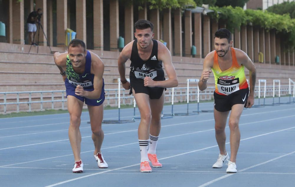 Así ha vuelto el atletismo en Valencia