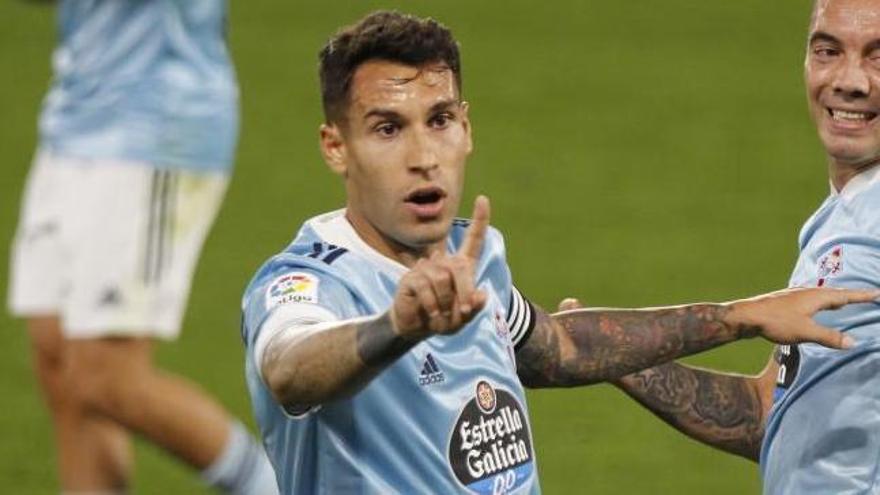 Óscar García desvela que Hugo Mallo pidió al club salir, pero no llegaron ofertas
