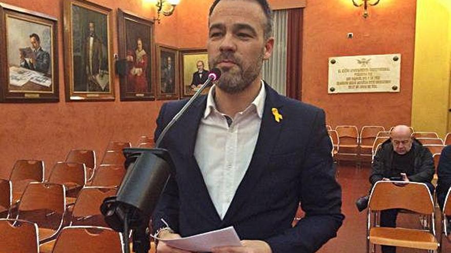 La participació ciutadana al ple enfronta la CUP amb la resta de grups municipals